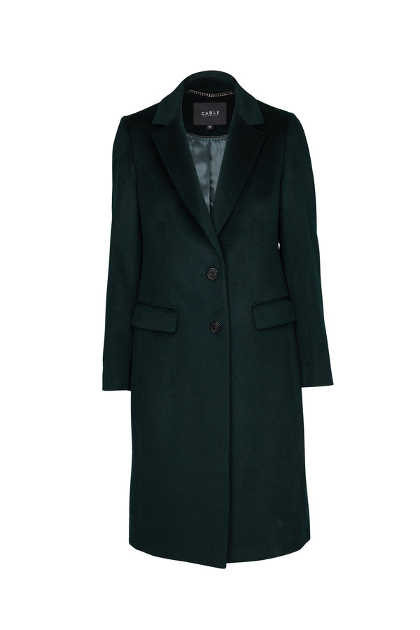 Harrison Wool Coat Green