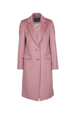 Harrison Wool Coat French Lilac