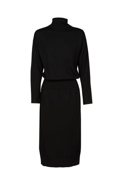 Florence Merino Dress Black