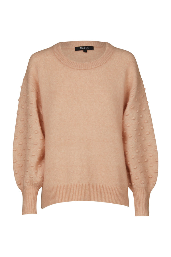 Isabelle Mohair Jumper Nude