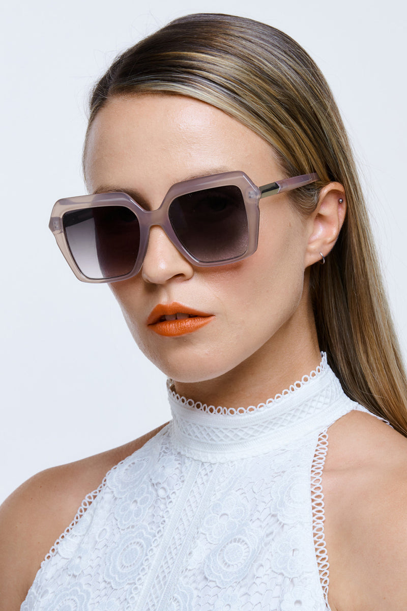 Reality Eyewear Sunglasses Danceteria Taupe Side