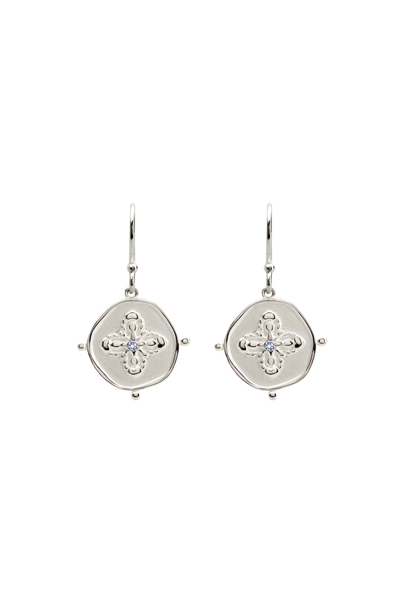 Murkani Sahara Earrings Silver