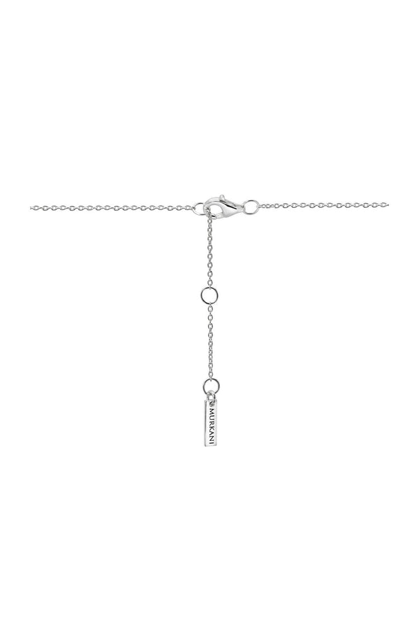 Murkani Compass Necklace Silver