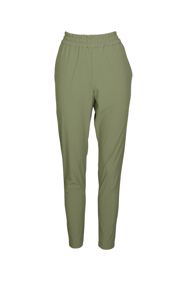Elle Slouch Pant Olive