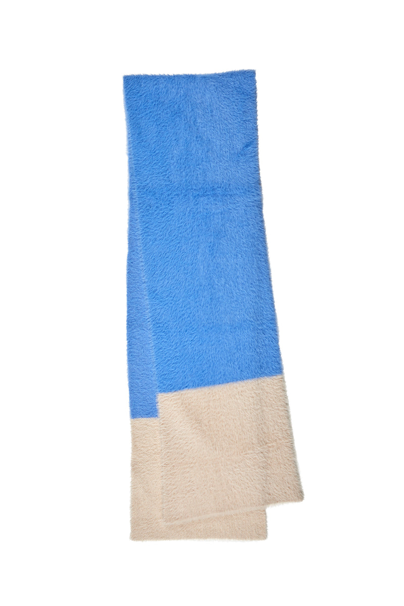 Stockholm Scarf Sky/Fawn