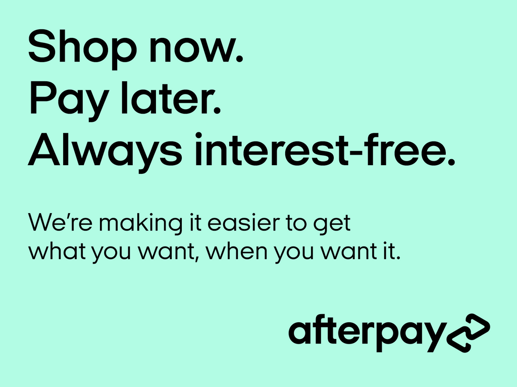 New Afterpay Logo & Services