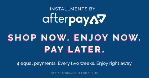 Afterpay from Mister Mann Menswear Interest free instalments with no credit checks