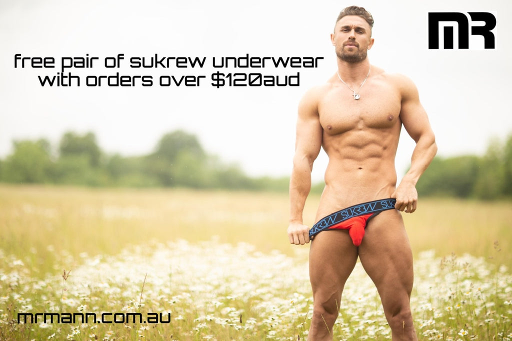 Free Jock with each order over $120