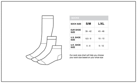 Barcode Berlin Sock Size Guide Mister Mann Menswear Australia New Zealand