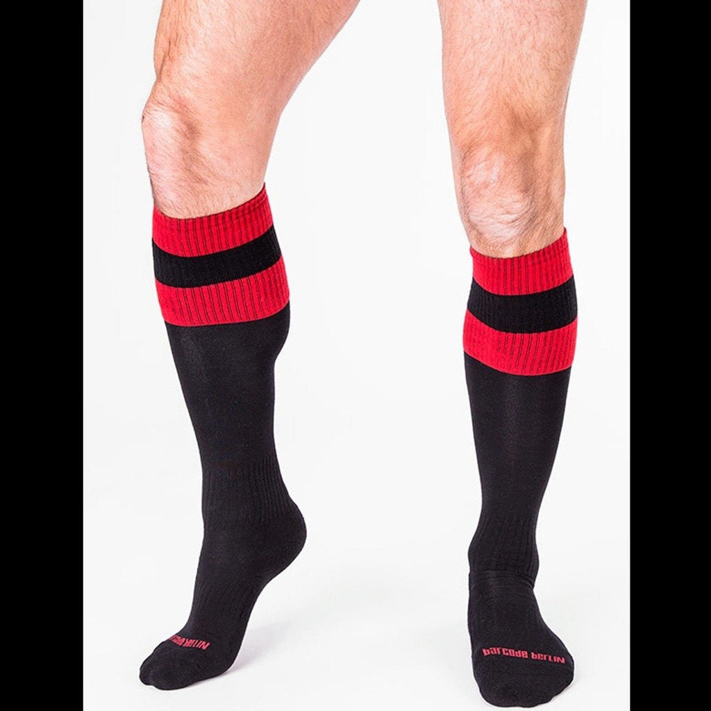 Football Socks - Black, Barcode Berlin