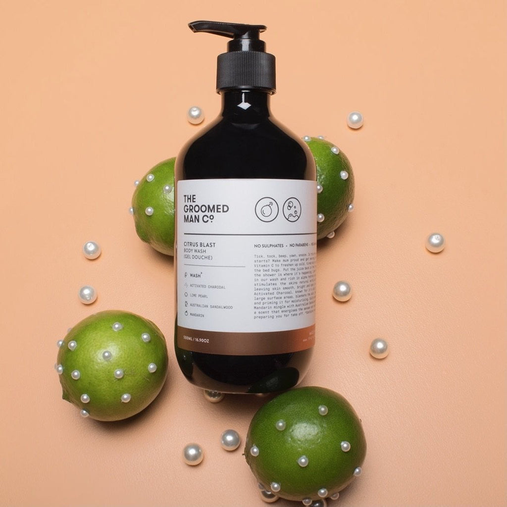 Citrus Blast Hand & Body Wash, The Groomed Man Co.