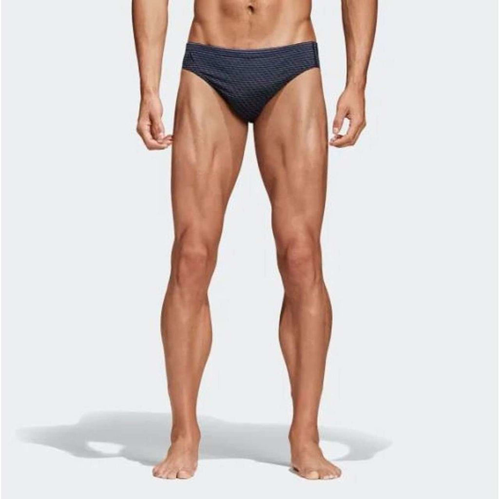 3 Stripe Swim Brief - Raw Indigo, Adidas