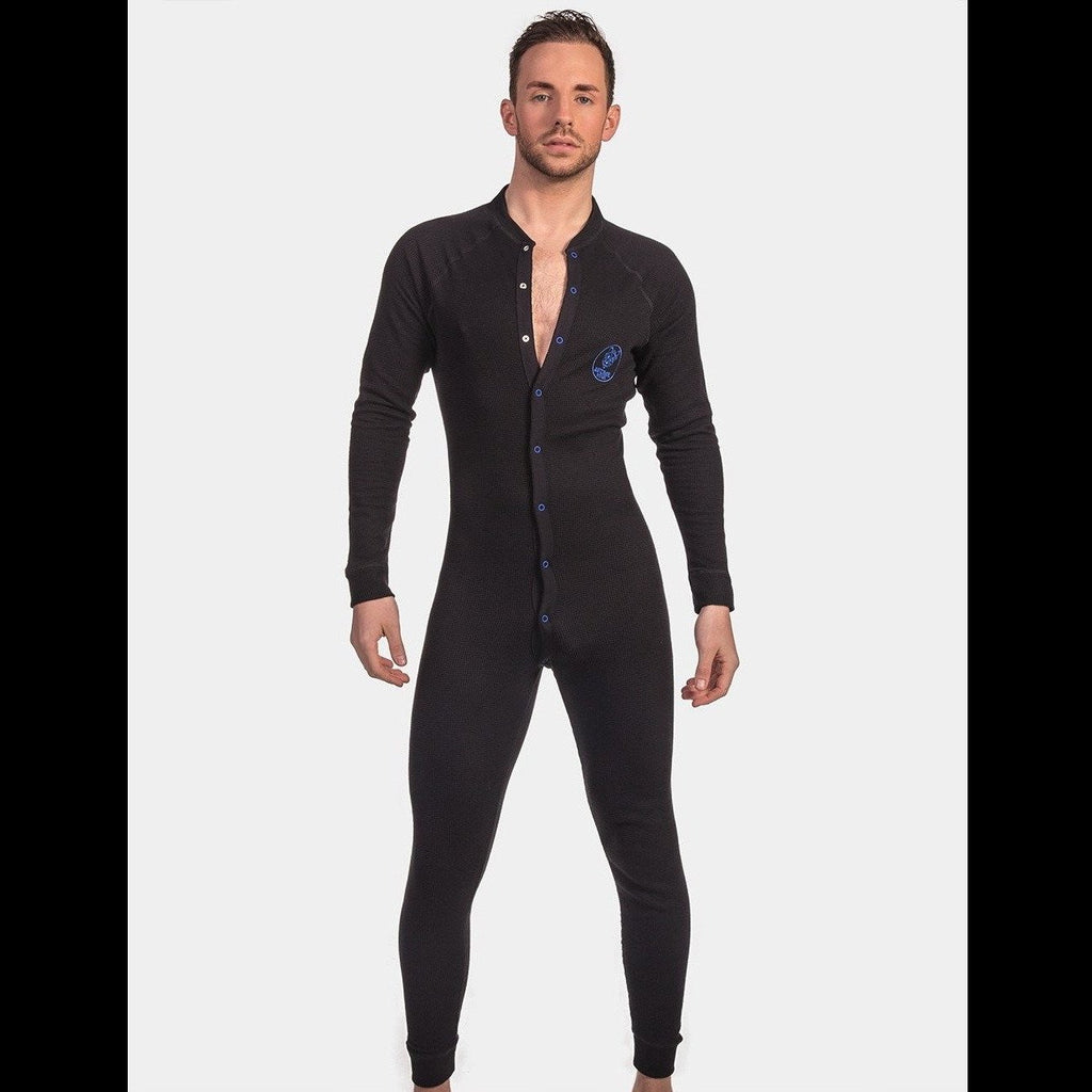 Union Suit Gian Black - Black Blue