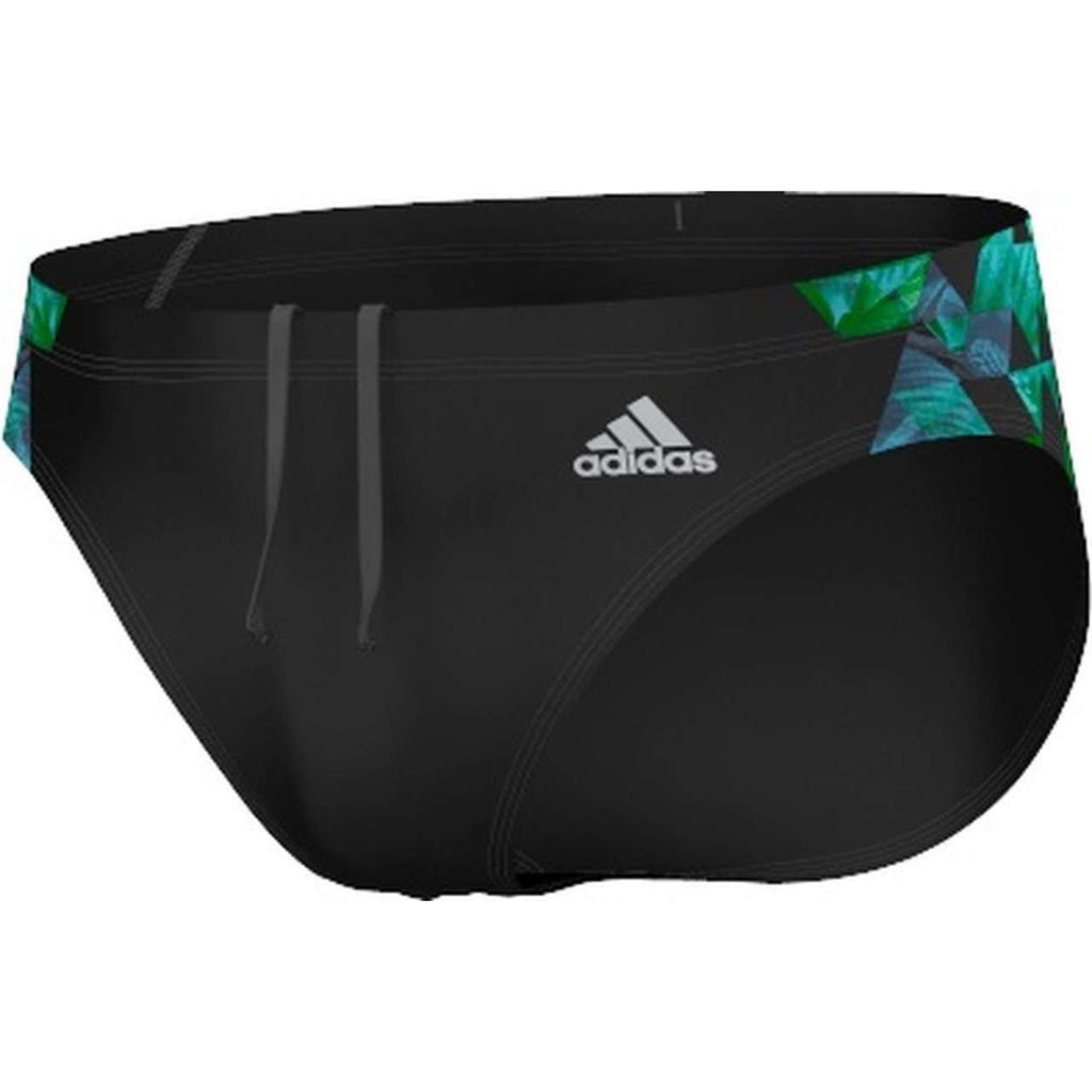 Adidas Xtreme Graphic Swim Brief Black - Mister Mann Menswear Premium Men's Sportswear Swimwear