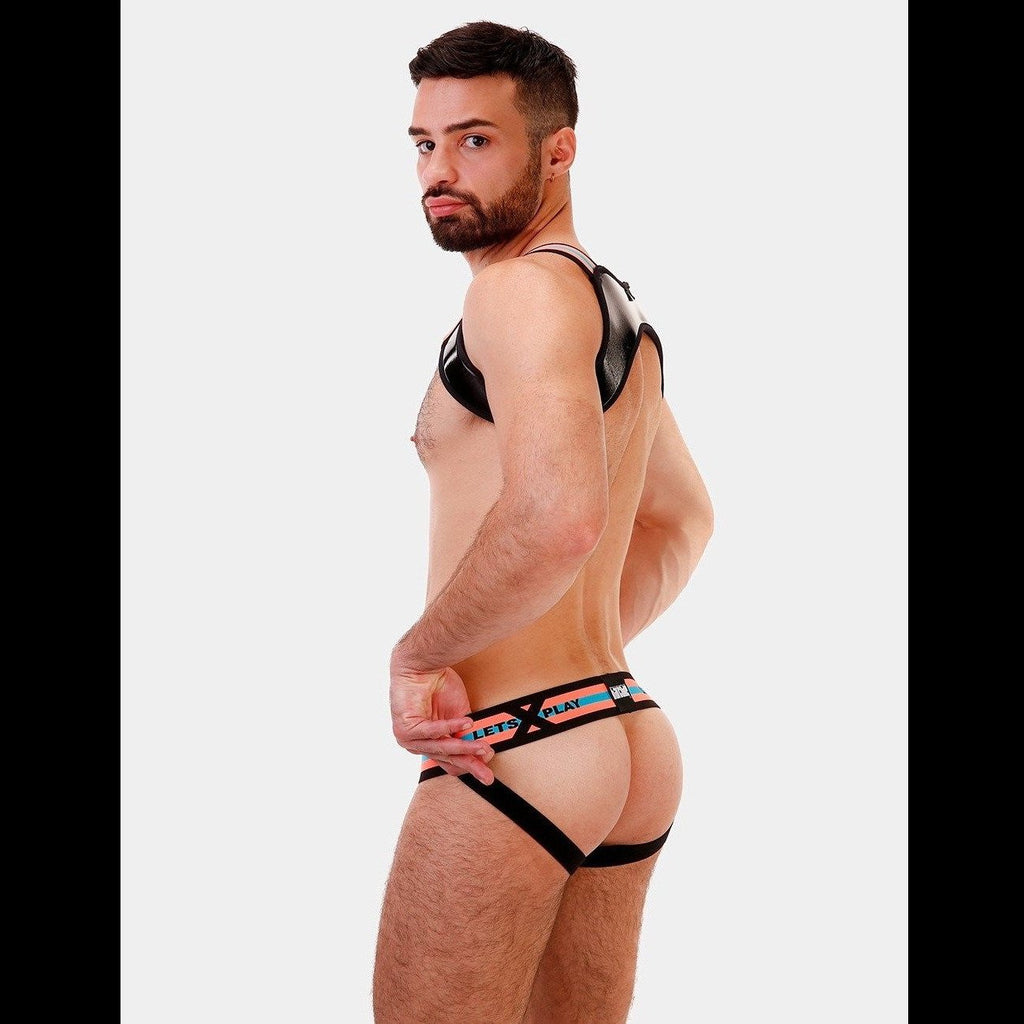 Let's Play Jockstrap - Turquoise, Barcode Berlin