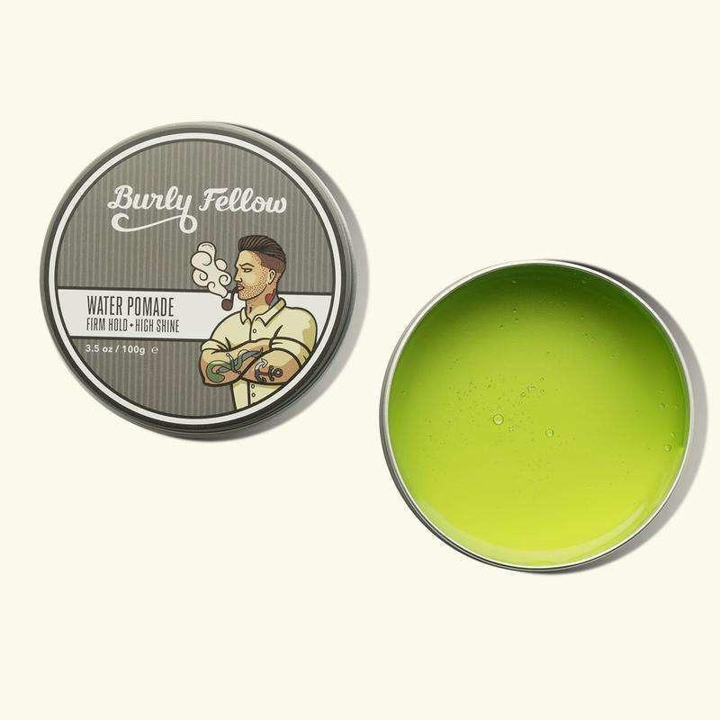 Burly Fellow | Water Pomade | Coconut & Mango 100gm, Water Pomade Hair Care, Burly Fellow, Mister Mann