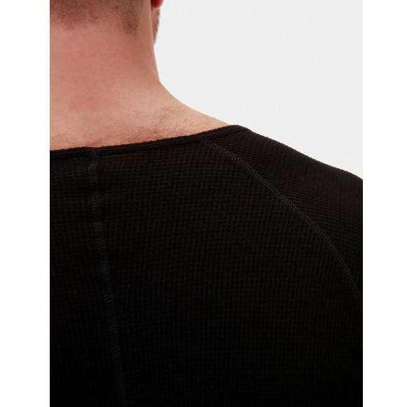 Dmitry Thermo V Neck - Black | Barcode Berlin, Mister Mann