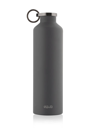 Classy Thermo Dark Grey Water Bottle