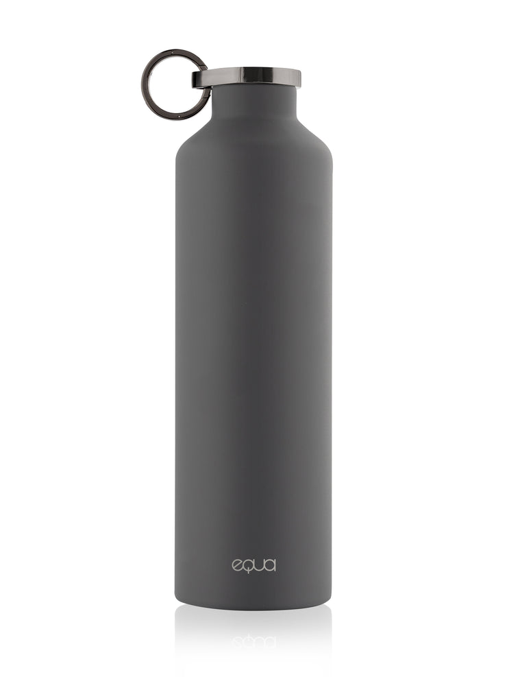 Dark Grey Stainless Steel Bottle