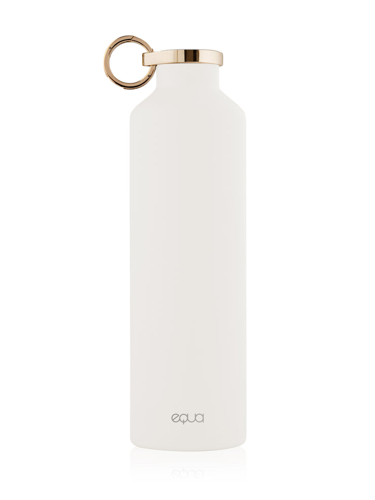 CLASSY THERMO SNOW WHITE WATER BOTTLE