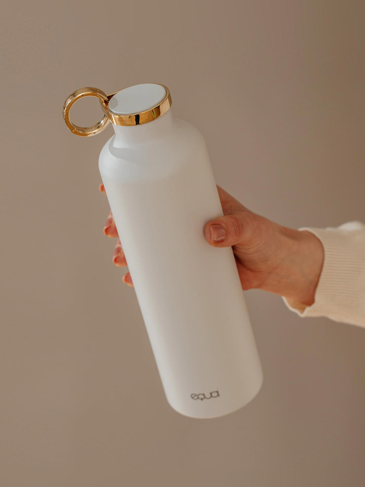 Snow White stainless steel water bottle with beautiful design