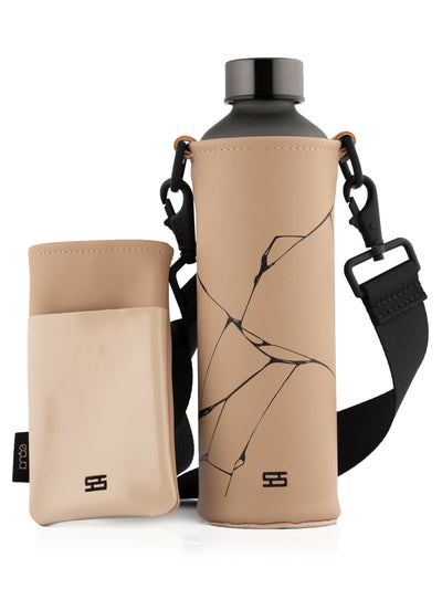 SNYR×EQUA water bottle with bag