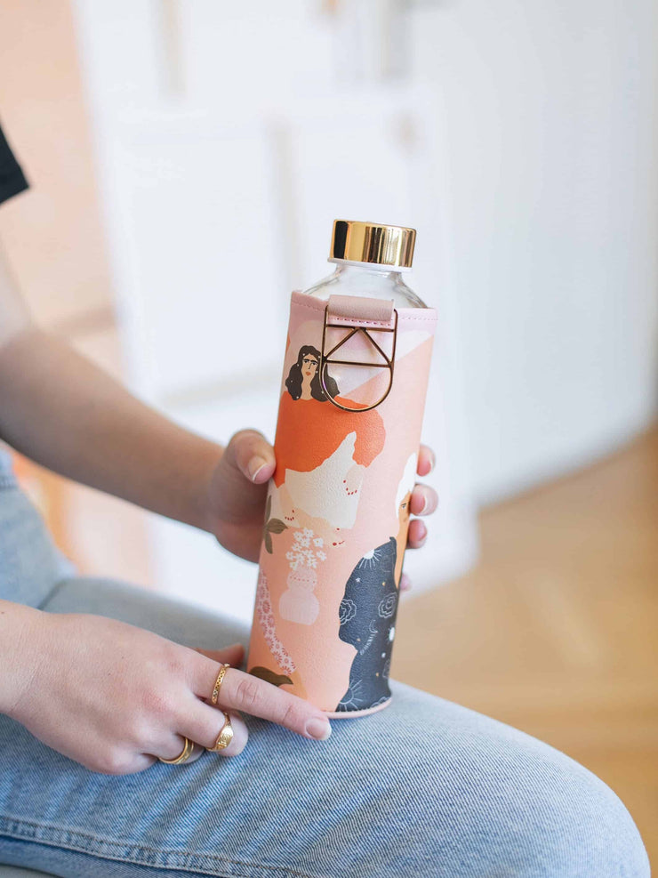 EQUA collaborated with Alja Horvat to create a water bottle with cover