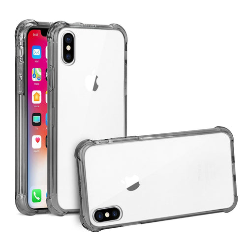 Apple iPhone X | Slim Fit Clear Bumper Case - Xcell Mobile