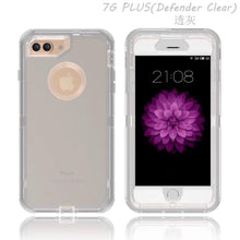 Load image into Gallery viewer, Apple iPhone 7|8 Defender Clear Case | Shockproof Hard Case + Belt Clip - Xcell Mobile