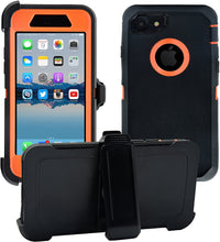 Load image into Gallery viewer, Apple iPhone 7|8 Plus Defender Case | Shockproof Hard Case + Belt Clip - Xcell Mobile