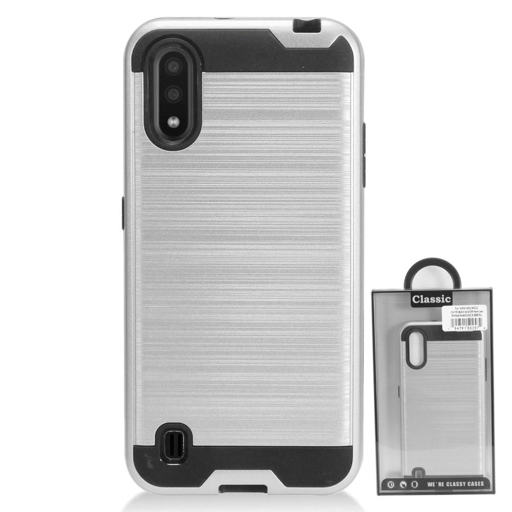 Galaxy A01 Brushed Metal Case - Xcell Mobile