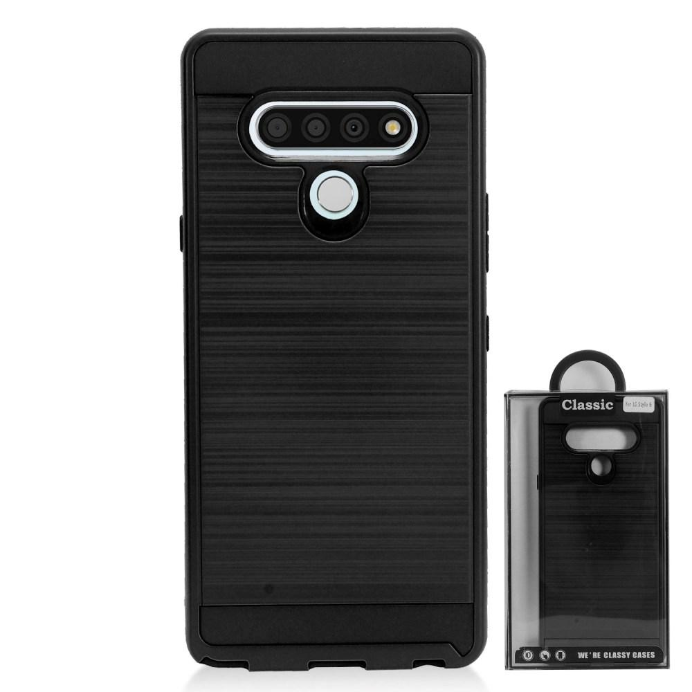 Stylo 6 Brushed Metal Case - Xcell Mobile