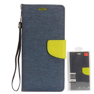 Stylo 6 Denim Wallet Case - Xcell Mobile