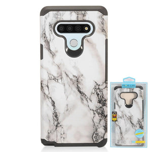 Stylo 6 Design Hybrid Case - Xcell Mobile