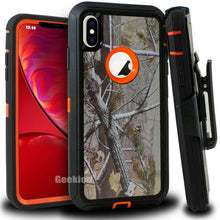 Load image into Gallery viewer, Apple iPhone X | Defender Case | Shockproof Hard Case + Belt Clip - Xcell Mobile