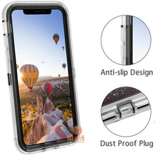 Load image into Gallery viewer, Apple iPhone X | Defender Liquid Glitter Case | Shockproof Hard Case + Belt Clip - Xcell Mobile
