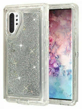 Load image into Gallery viewer, Samsung Galaxy Note 10+ | Defender Liquid Glitter Case | Shockproof Hard Case + Belt Clip - Xcell Mobile