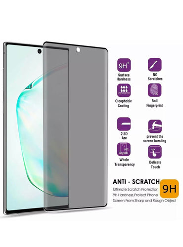 Samsung Galaxy Note 10+ 5D Privacy Tempered Glass | Screen Protector - Xcell Mobile