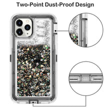 Load image into Gallery viewer, Apple iPhone 7|8 | Defender Liquid Glitter Case | Shockproof Hard Case + Belt Clip - Xcell Mobile