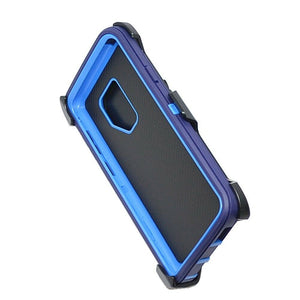 Samsung Galaxy S9 | Defender Case | Shockproof Hard Case + Belt Clip - Xcell Mobile