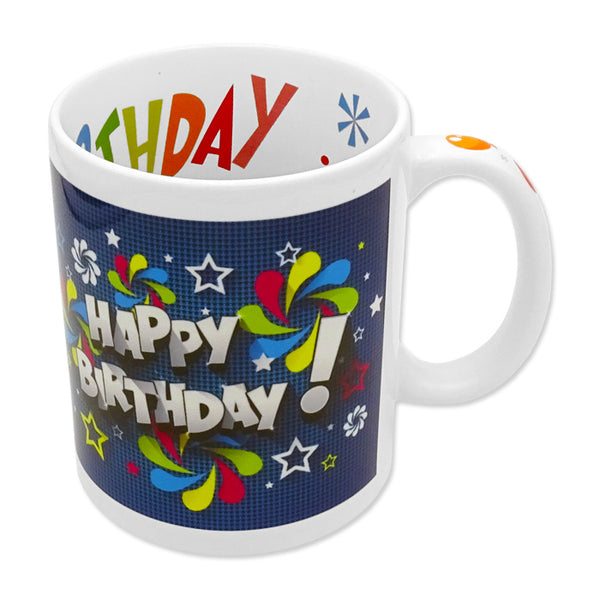 Foto-Tasse Happy Birthday