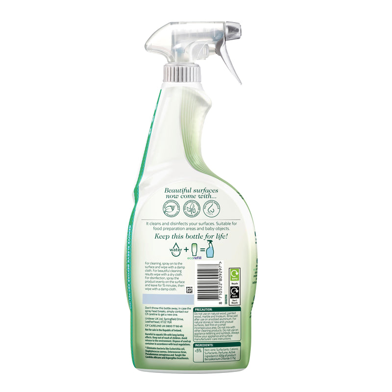 Cif Antibac & Shine Disinfectant Cleaner Spray 700ml