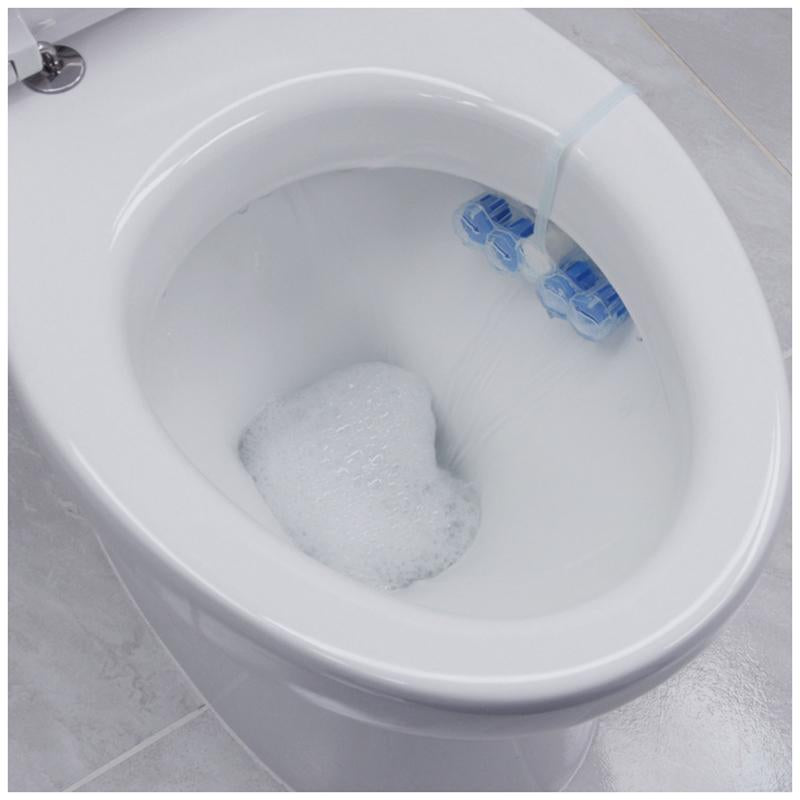 Domestos Power 5 Ocean Toilet Rim Block 2pc