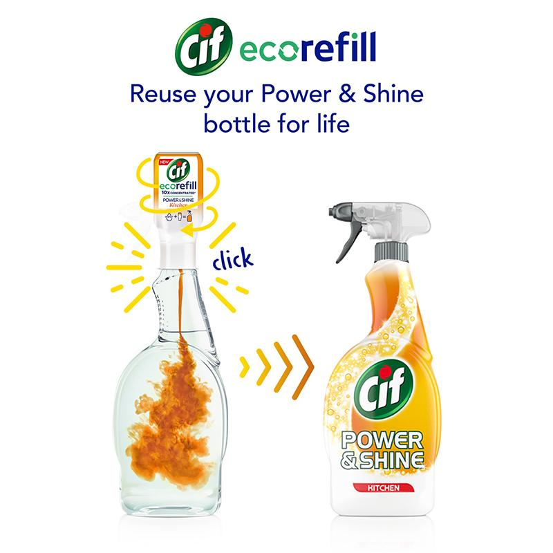 Cif Power & Shine Kitchen Ecorefill 70ml