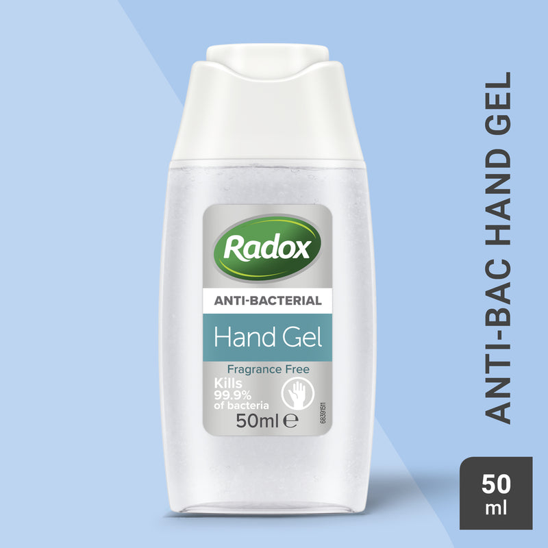 Radox Anti-bac Hand Sanitiser Gel 50ml