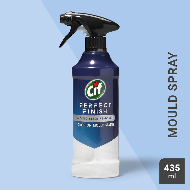 Cif Perfect Finish Mould Stain Remover Specialist Cleaner Spray 435ml