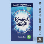 Thumbnail 1: Comfort Intense Fresh Sky Tumble Dryer Sheets 20 Sheets