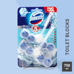 Thumbnail 1: Domestos Power 5 Ocean Toilet Rim Block 2pc