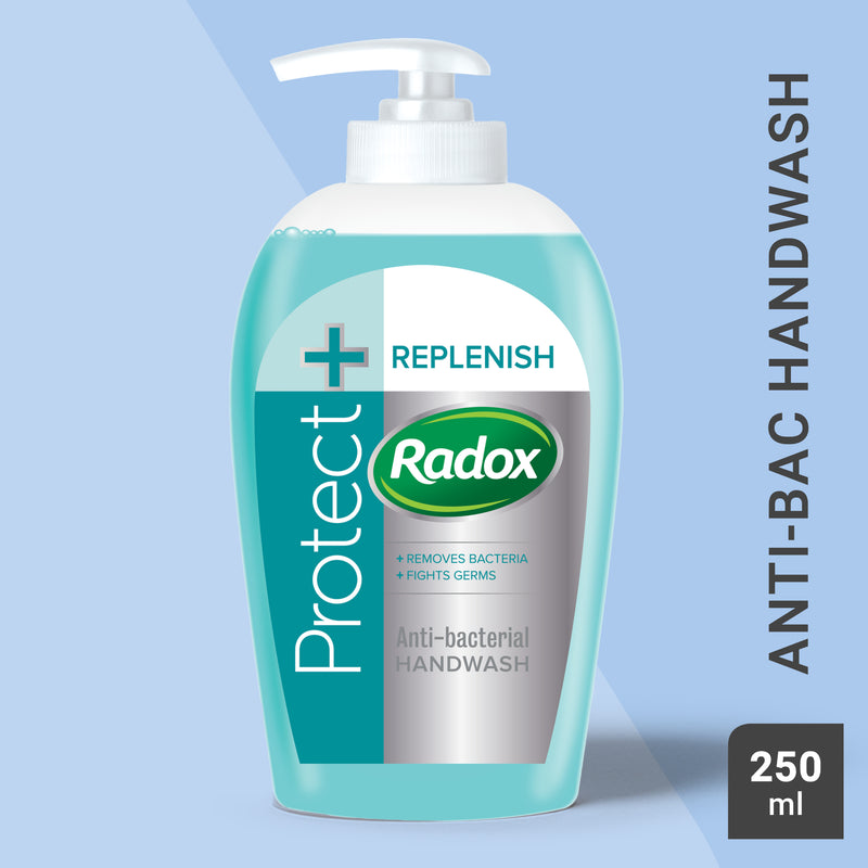 Radox Protect + Replenish Antibacterial Handwash 250ml