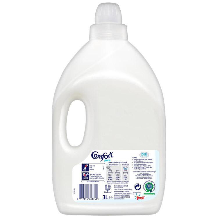 Comfort Pure Fabric Conditioner 85 Wash 3L
